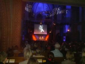Foto: Lesung von Dirk Kurbjuweit in der Kulturkirche Köln