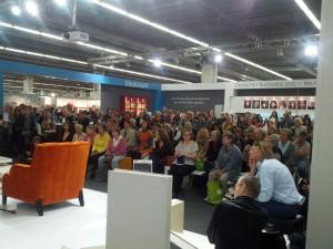Publikum auf der Frankfurter Buchmesse 2012