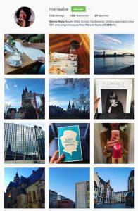 Melanie Raabe auf Instagram